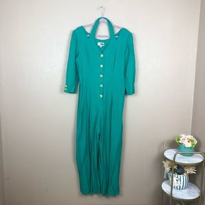 Vintage green jumpsuit